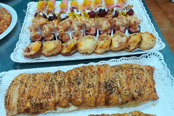 Canapés para fiestas y eventos en Caniles
