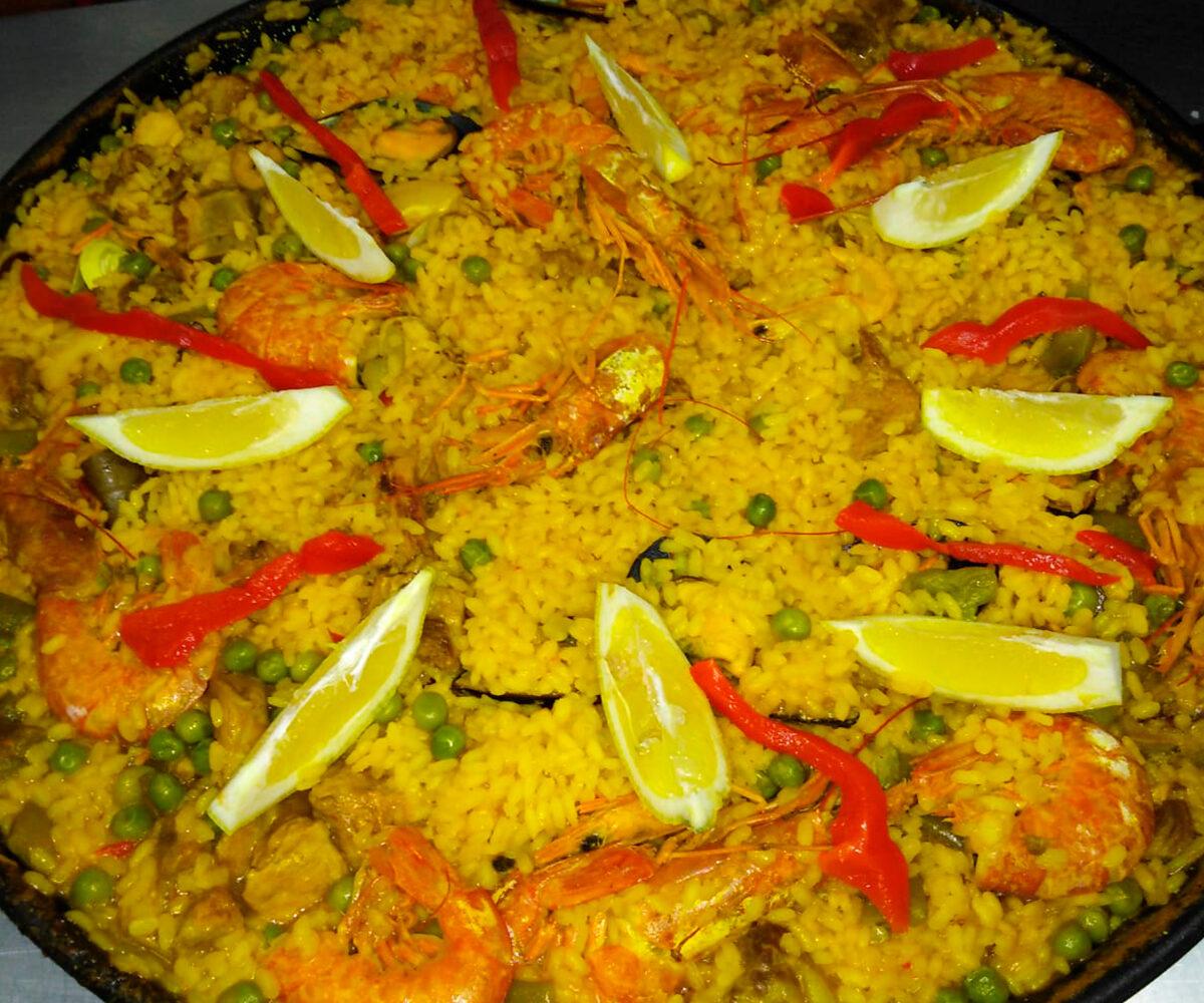 Paella para llevar en La Cocina de Inma, Caniles