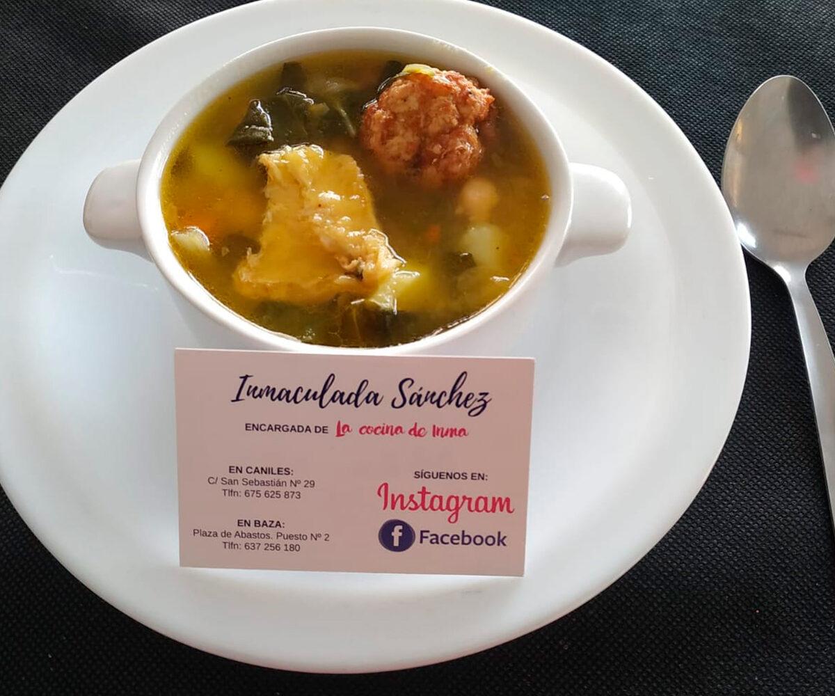 Primeros platos en menú, comida para llevar en Caniles