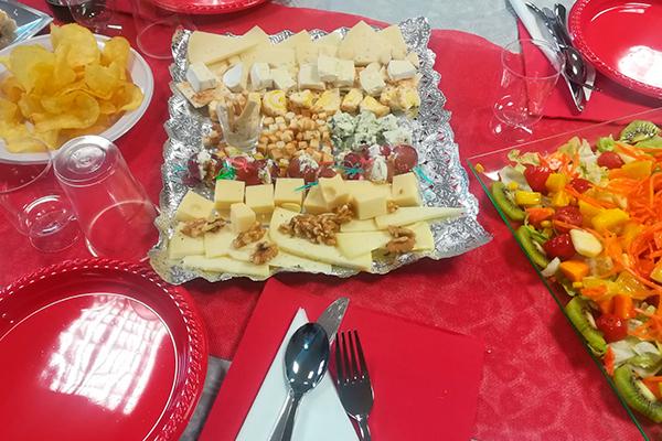 Tabla de quesos para eventos por La Cocina de Inma