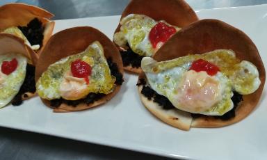 Tacos en La Cocina de Inma