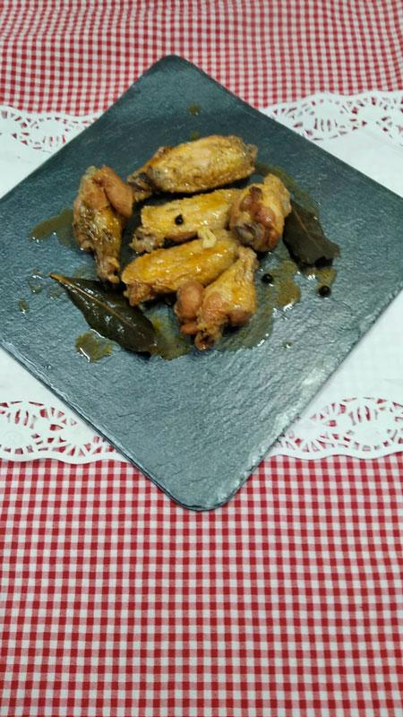 Alitas caseras comidas para lleva en Caniles con La Cocina de Inma