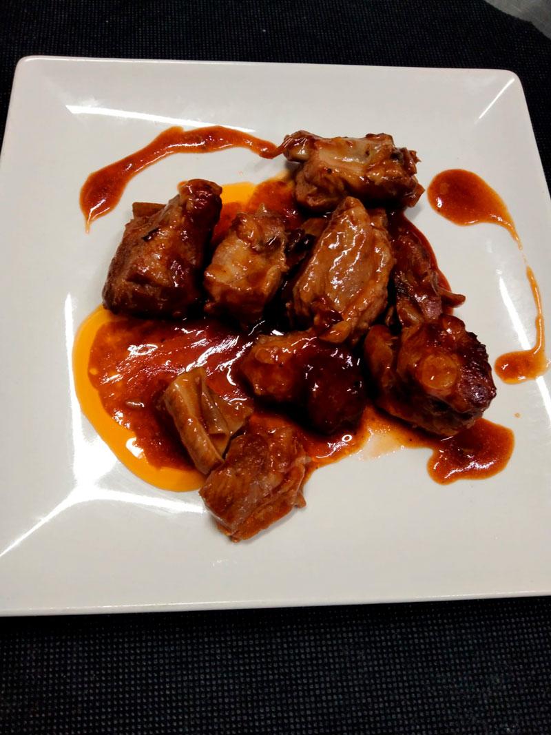 Alitas en salsa comidas para lleva en Caniles con La Cocina de Inma