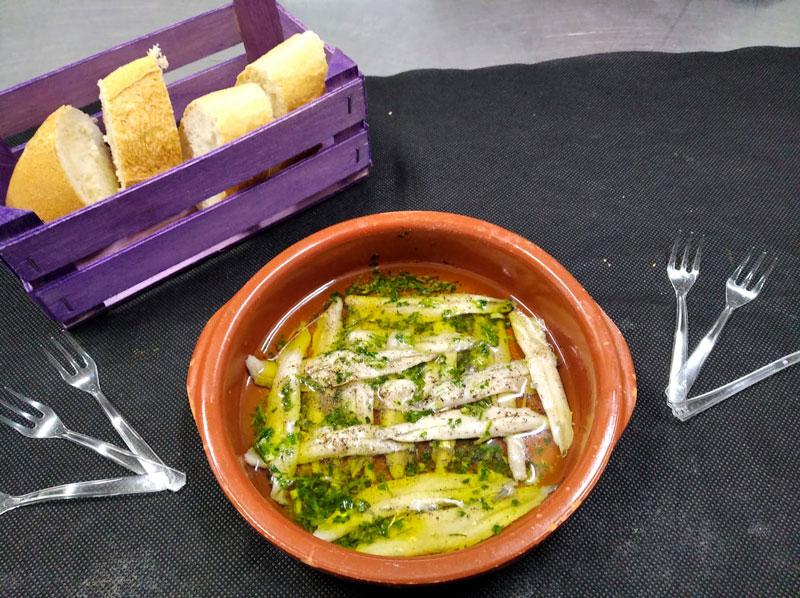Anchoas caseras comidas para lleva en Caniles con La Cocina de Inma
