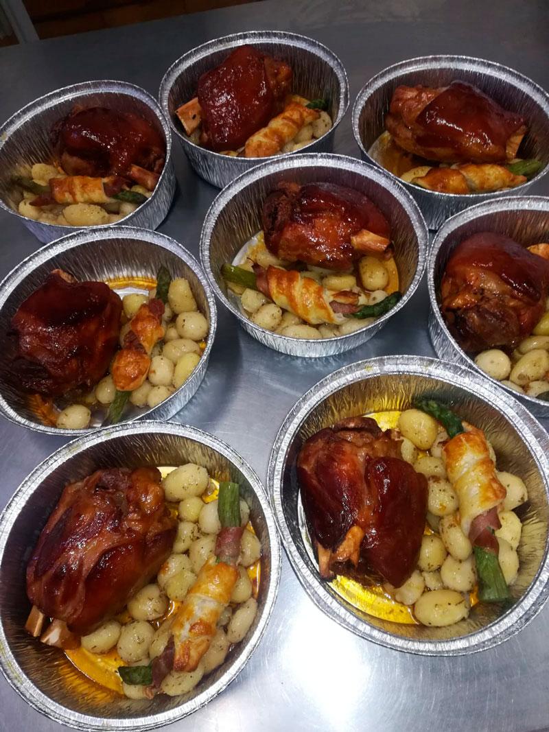 Asado codillo comidas para lleva en Caniles con La Cocina de Inma