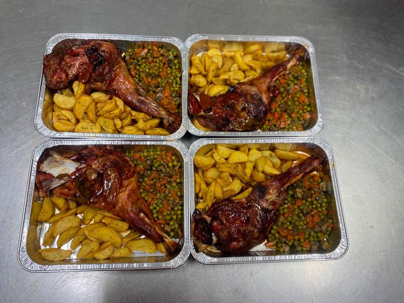 Asado pata comidas para lleva en Caniles con La Cocina de Inma