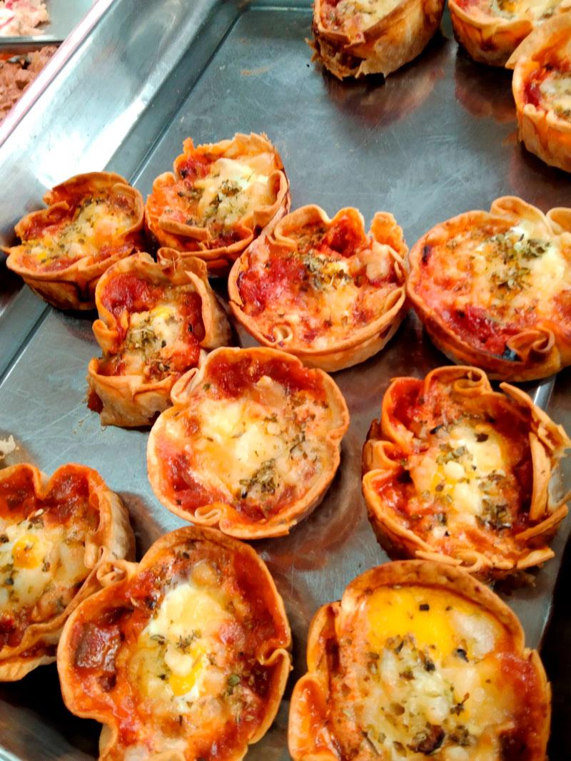Bombas jamón york comidas para lleva en Caniles con La Cocina de Inma