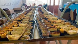 Canapés eventos catering por encargo La Cocina de Inma