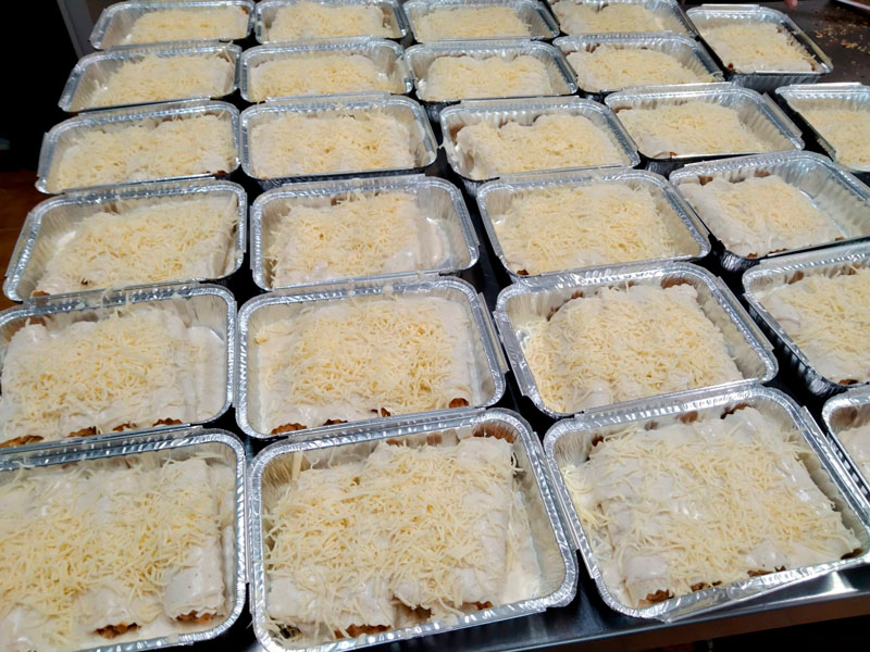 Canelones comidas para lleva en Caniles con La Cocina de Inma