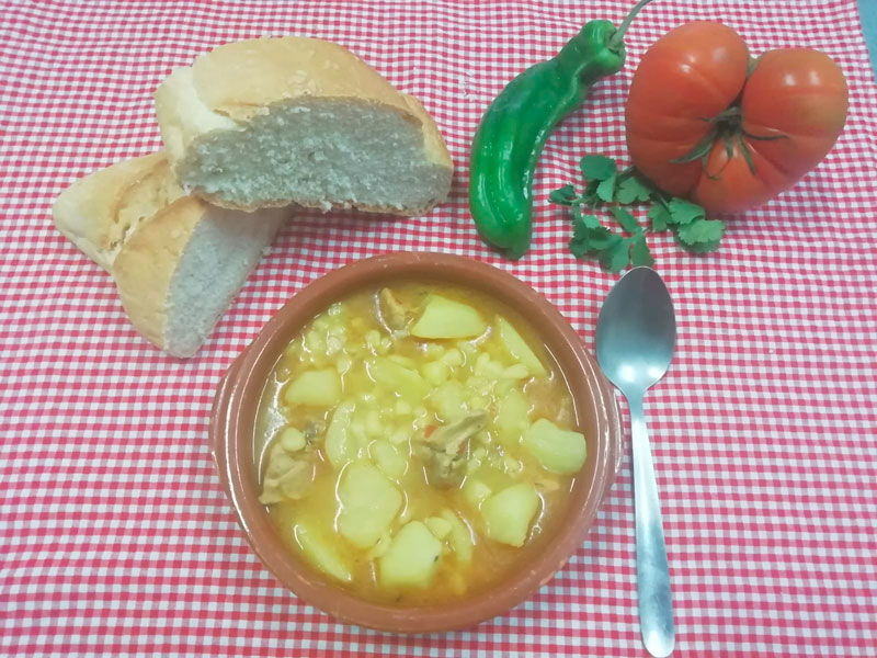 Cocido comidas para llevar en Caniles con La Cocina de Inma