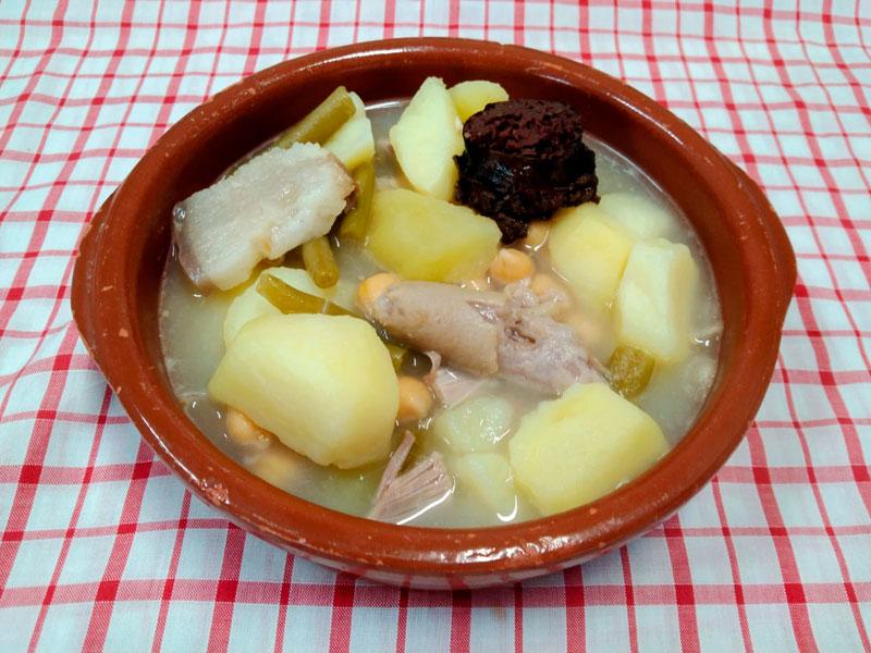 Cocido pollo comidas para llevar en Caniles con La Cocina de Inma