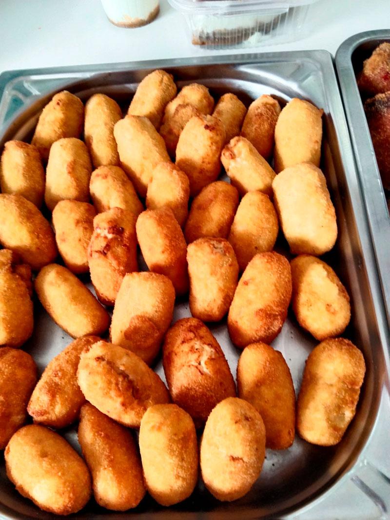 Croquetas de jamón caseras comidas para llevar en Caniles con La Cocina de Inma