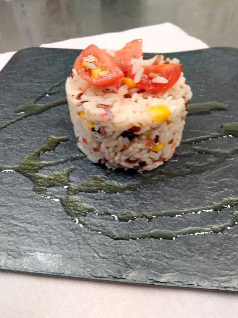Ensalada de arroz comidas para lleva en Caniles con La Cocina de Inma