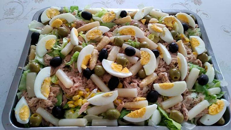 Ensalada campera comidas para lleva en Caniles con La Cocina de Inma