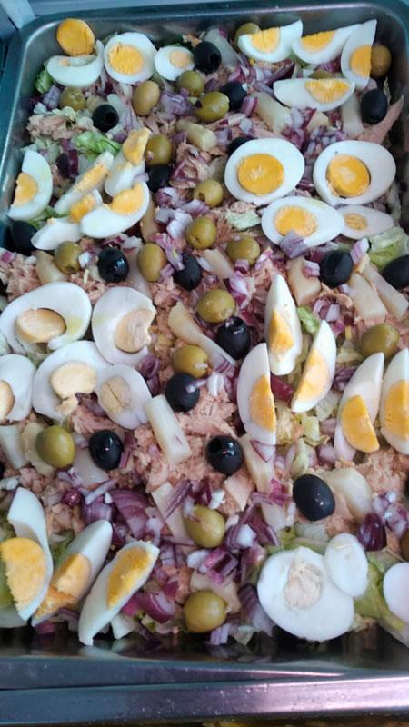 Ensalada mixta comidas para lleva en Caniles con La Cocina de Inma