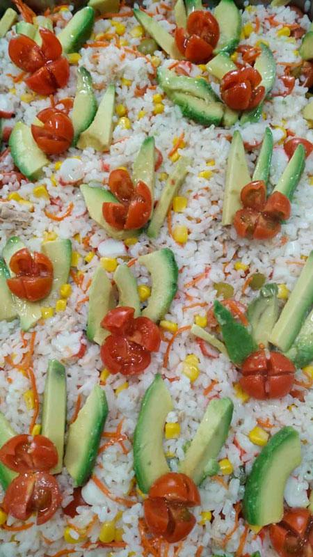 Ensalada aguacate comidas para lleva en Caniles con La Cocina de Inma