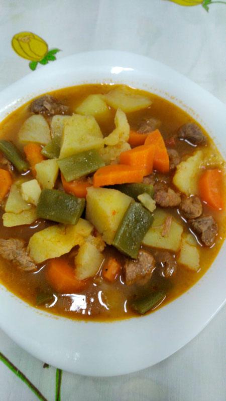 Guiso verduras comidas para llevar en Caniles con La Cocina de Inma