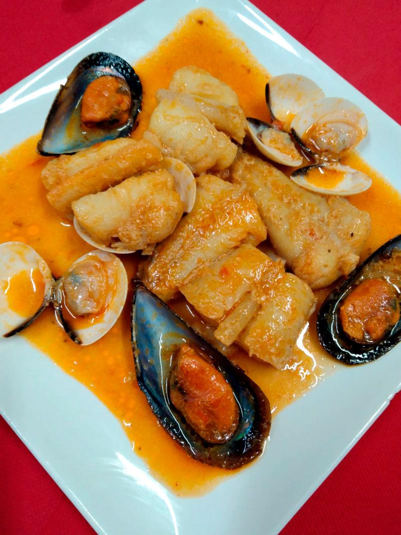Mejillones en salsa comidas para lleva en Caniles con La Cocina de Inma