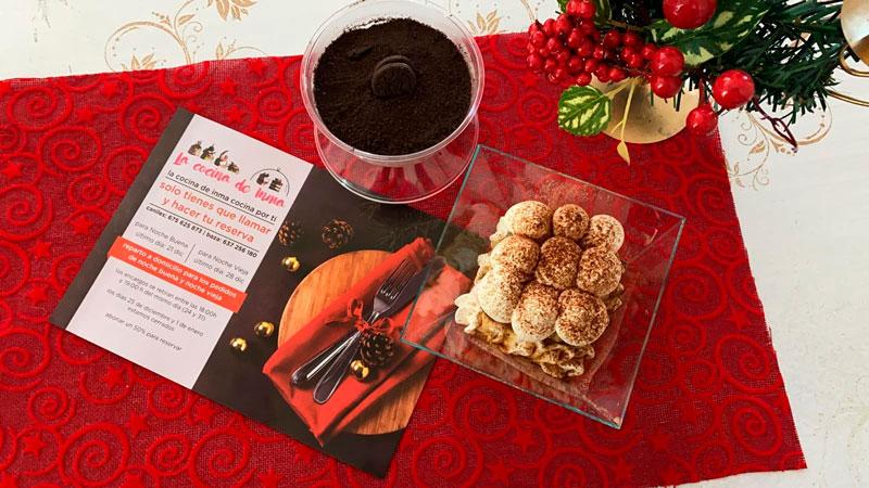 Postres caseros, tarta de oreo para eventos y catering, comidas para llevar Caniles con La Cocina de Inma