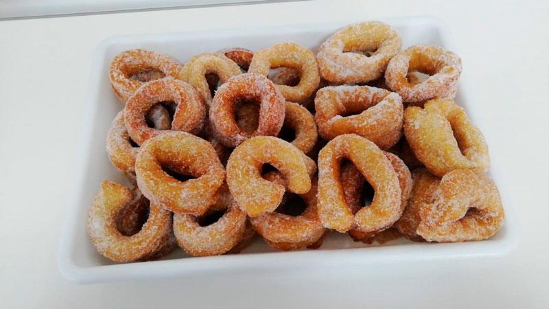 Rosquillas dulces caseras comidas para llevar Caniles con La Cocina de Inma